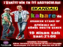 Kabare`de Arabesk Stand-Up Var